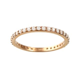 10k Rose Gold 1/2-ct. T.W. Diamond Eternity Wedding Ring