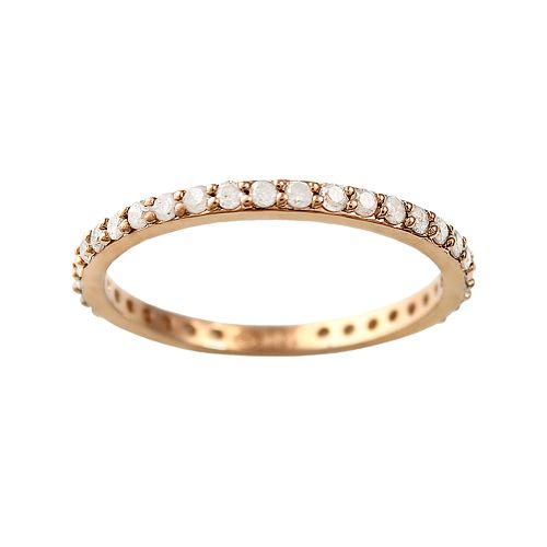 10k Rose Gold 1/2-ct. T.W. Diamond Eternity Wedding Ring