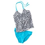Mudd 2-pc. Tankini Swimsuit Set - Girls 7-16