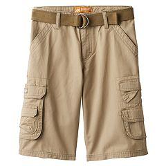 Boys 8-20 & Husky Lee Twill Cargo Shorts