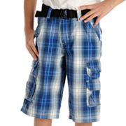 Lee Plaid Twill Cargo Shorts - Boys 8-20