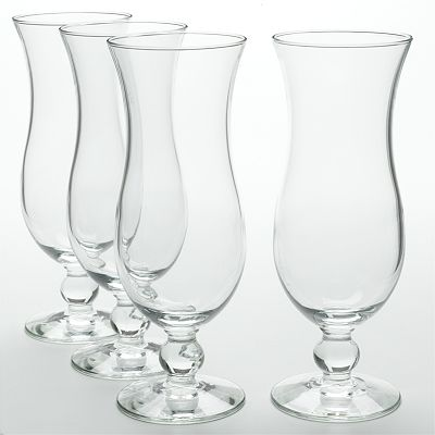 Libbey 4-pc. Hurricane Glass Set