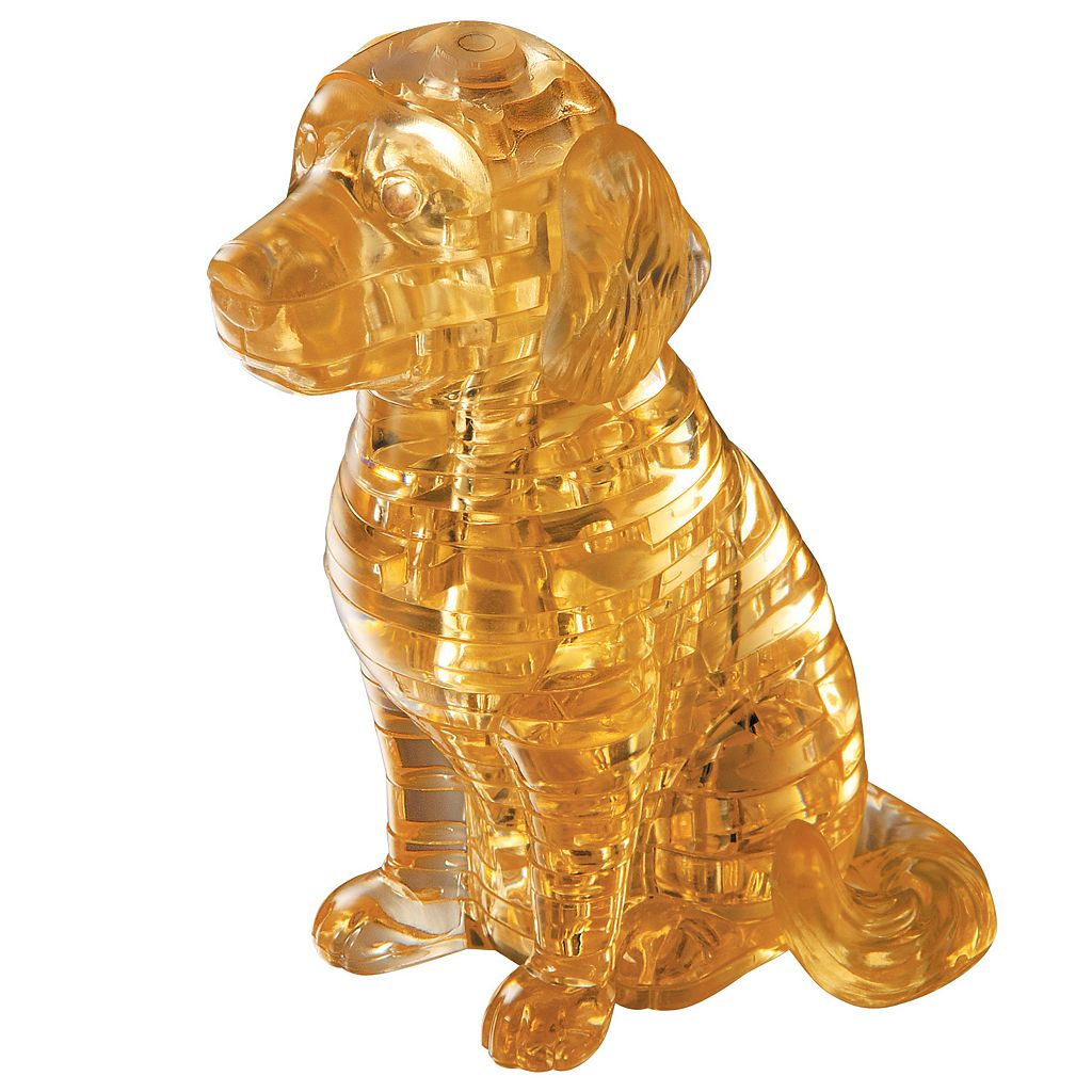 3D Crystal Puppy Dog Puzzle