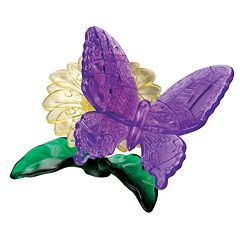 3D Crystal Butterfly Puzzle