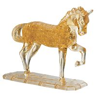 Deluxe 3D Crystal Horse Puzzle