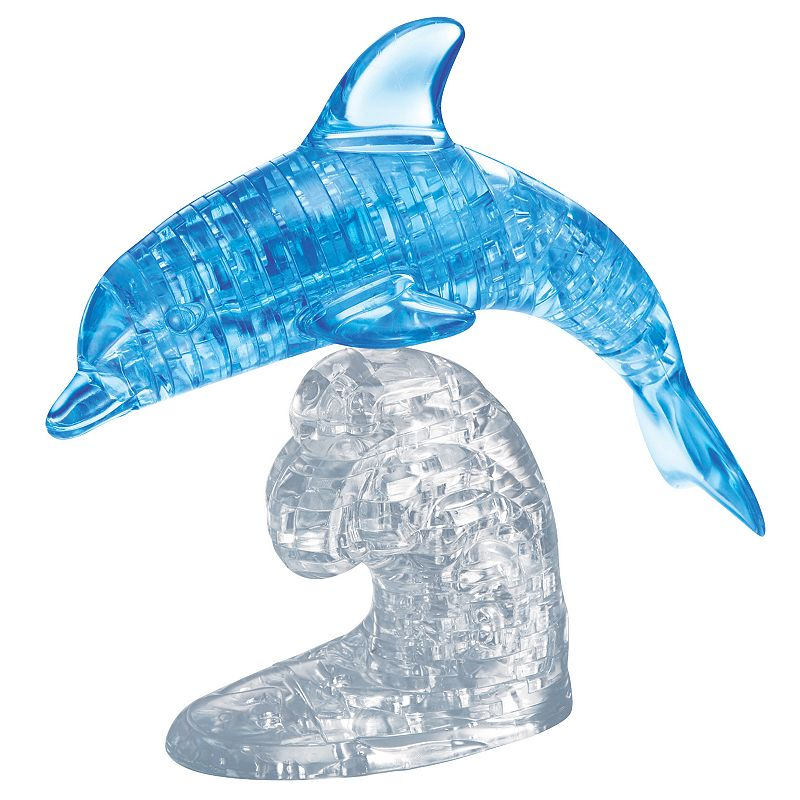 Bepuzzled 3D Crystal Puzzle - Dolphin: 95 Pcs