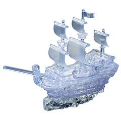 Deluxe 3D Crystal Pirate Ship Puzzle