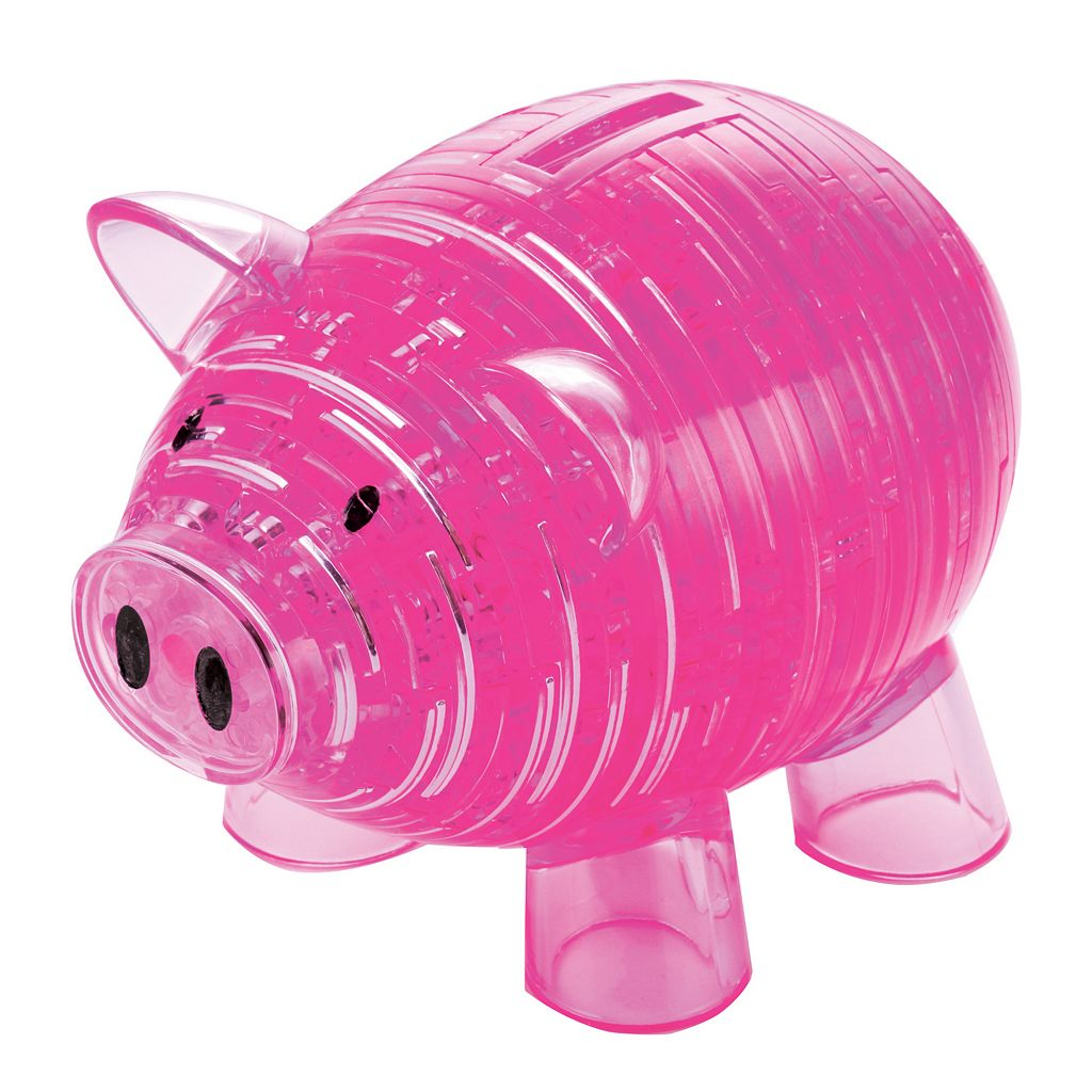 Deluxe 3D Crystal Piggy Bank Puzzle