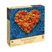 Madalene's Hearts Flowers and Rubber Bands 1000-pc. Puzzle