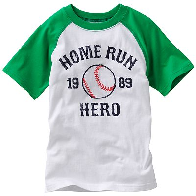 Carter's Home Run Hero Raglan Tee - Boys 4-7