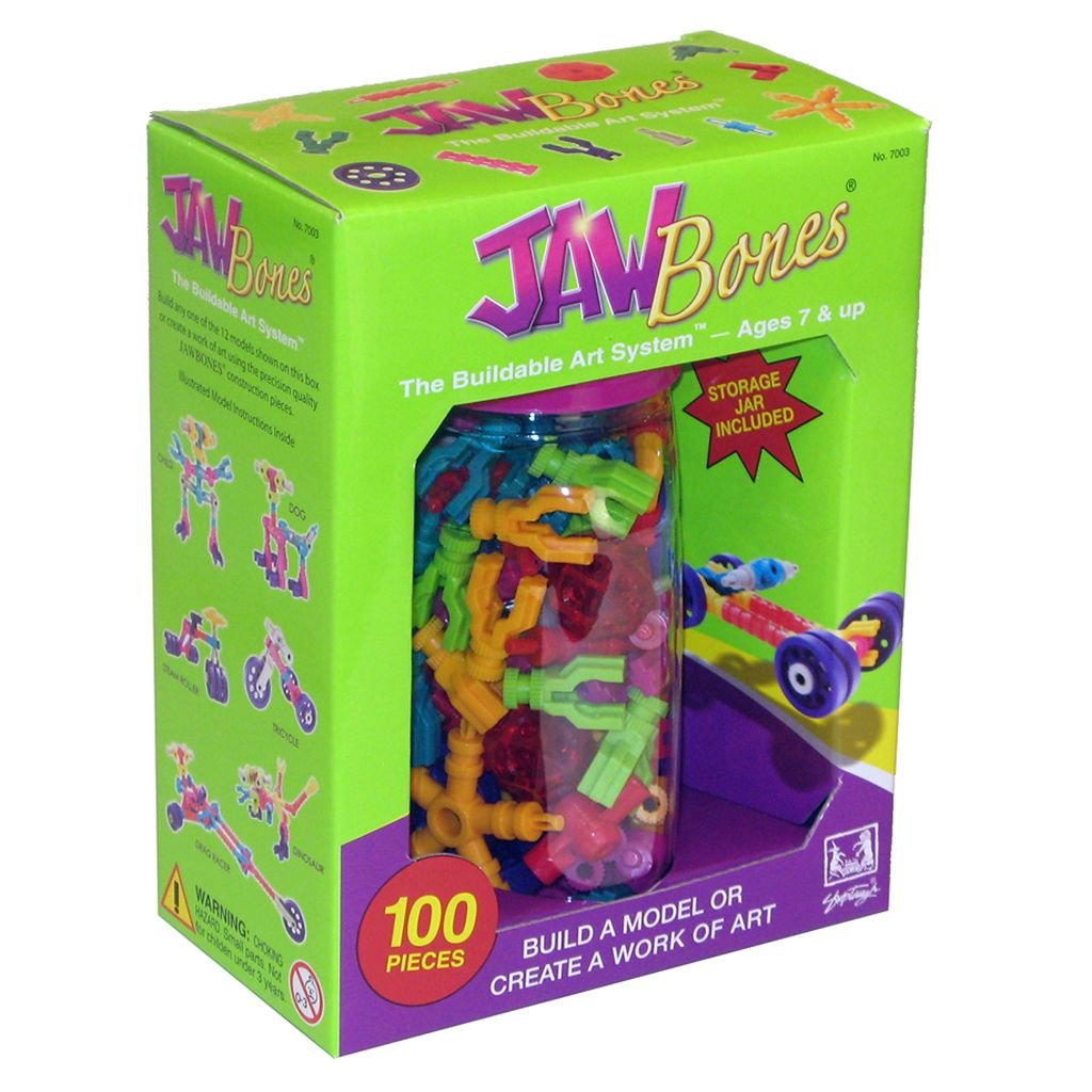 Jawbones 100-pc. Buildable Art System
