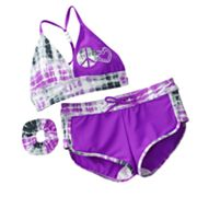 Malibu Dream Girl Tie-Dye 2-pc. Bikini Swimsuit Set - Girls 7-16