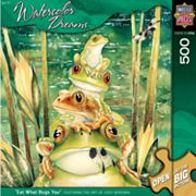 Watercolor Dreams Eat What Bugs You 500-pc. Puzzle