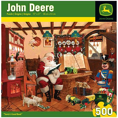 John Deere Santa's Good Book 500-pc. Puzzle