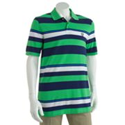 Chaps Multi-Striped Polo