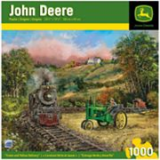 John Deere Green and Yellow Delivery 1000-pc. Puzzle