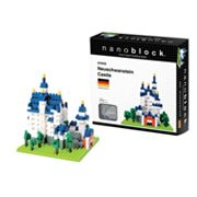 nanoblock Sites to See Neuschwanstein Castle 3D Puzzle
