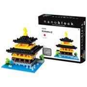 nanoblock Sites to See Kinkaku-ji 3D Puzzle