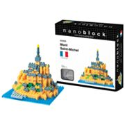 nanoblock Sites to See Mont Saint-Michel 3D Puzzle