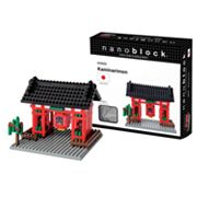 nanoblock Sites to See Kaminarimon 3D Puzzle