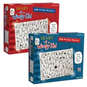 Diary of a Wimpy Kid Puzzle Set by Pressman