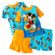 Disney Mickey Mouse and Friends Surf's Up Pajama Set - Toddler