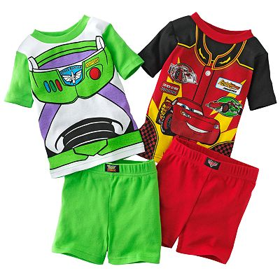 Disney/Pixar Cars and Toy Story Pajama Set - Toddler