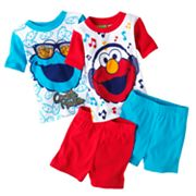 Sesame Street Elmo and Cookie Monster Pajama Set - Toddler