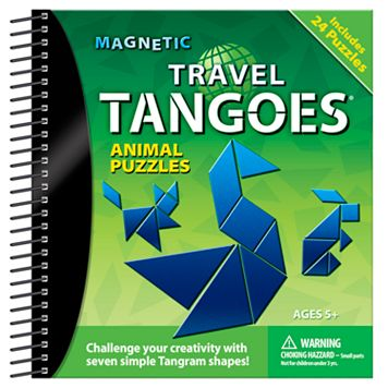 Magnetic Travel Tangoes Animal Puzzles
