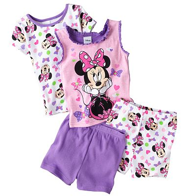 Disney Mickey Mouse and Friends Minnie Mouse Pajama Set - Toddler