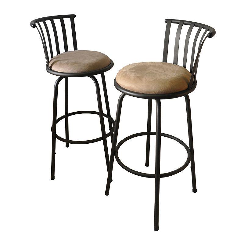 Tractor Seat Bar Stools Kohl S : Padded metal bar stool kohl s
