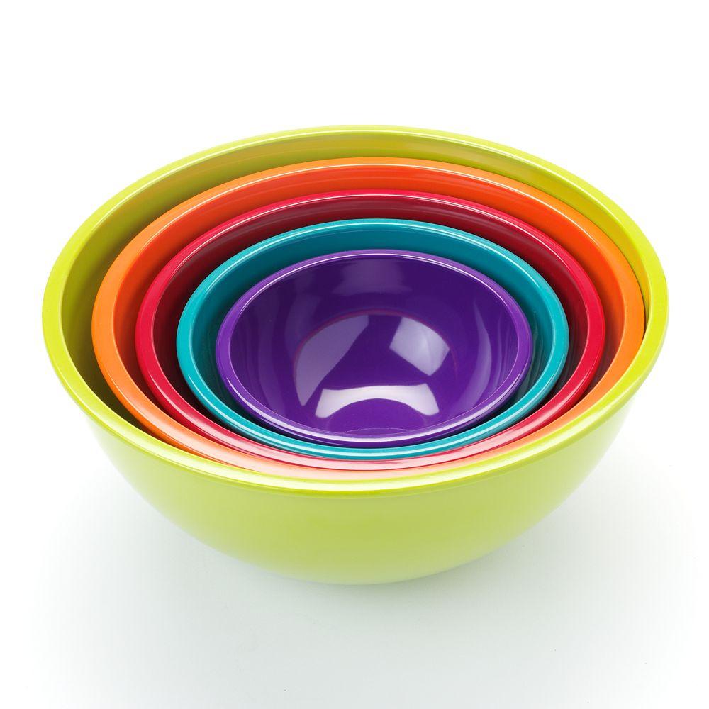 Food NetworkTM 5 Pc Mixing Bowl Set