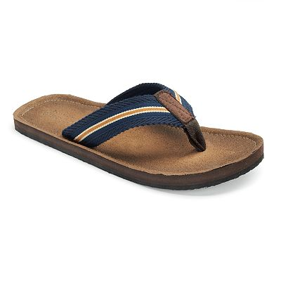 SONOMA life + style Striped Flip-Flops - Men