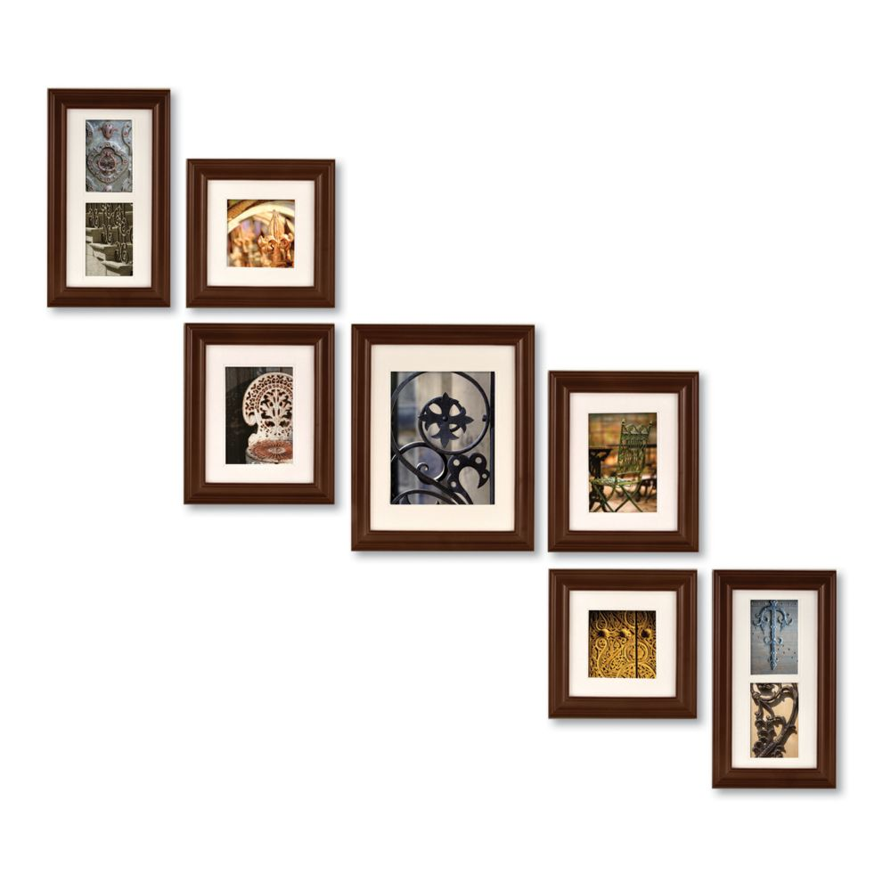 Wall Gallery Frame Set a-gallery 7-piece frame set