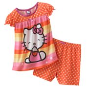 Hello Kitty Star Pajama Set - Toddler
