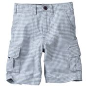 Carter's Checkered Cargo Shorts - Boys 4-7