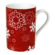 Waechtersbach Winter Splendor 4-pc. Snowflakes Mug Set