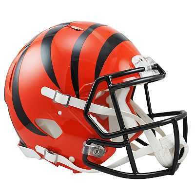 Riddell Cincinnati Bengals Revolution Speed Authentic Helmet