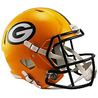 Riddell Green Bay Packers Revolution Speed Authentic Helmet