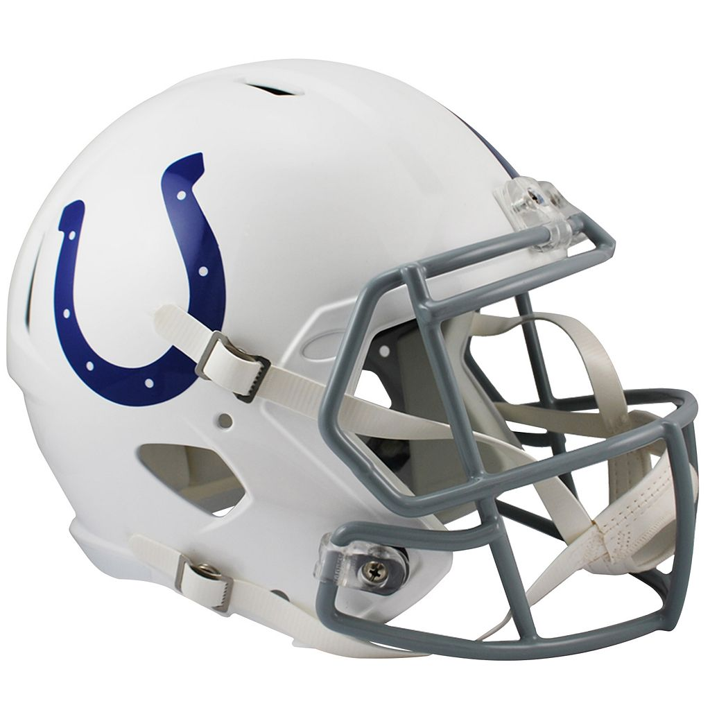 Riddell Indianapolis Colts Revolution Speed Authentic Helmet