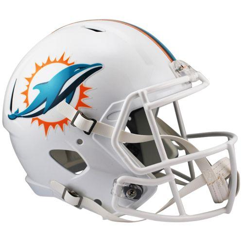 Riddell Miami Dolphins Revolution Speed Authentic Helmet