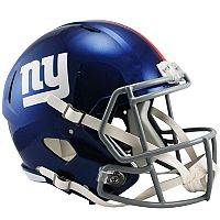 Riddell New York Giants Revolution Speed Authentic Helmet
