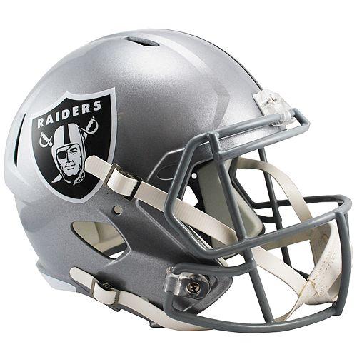 Riddell Oakland Raiders Revolution Speed Authentic Helmet