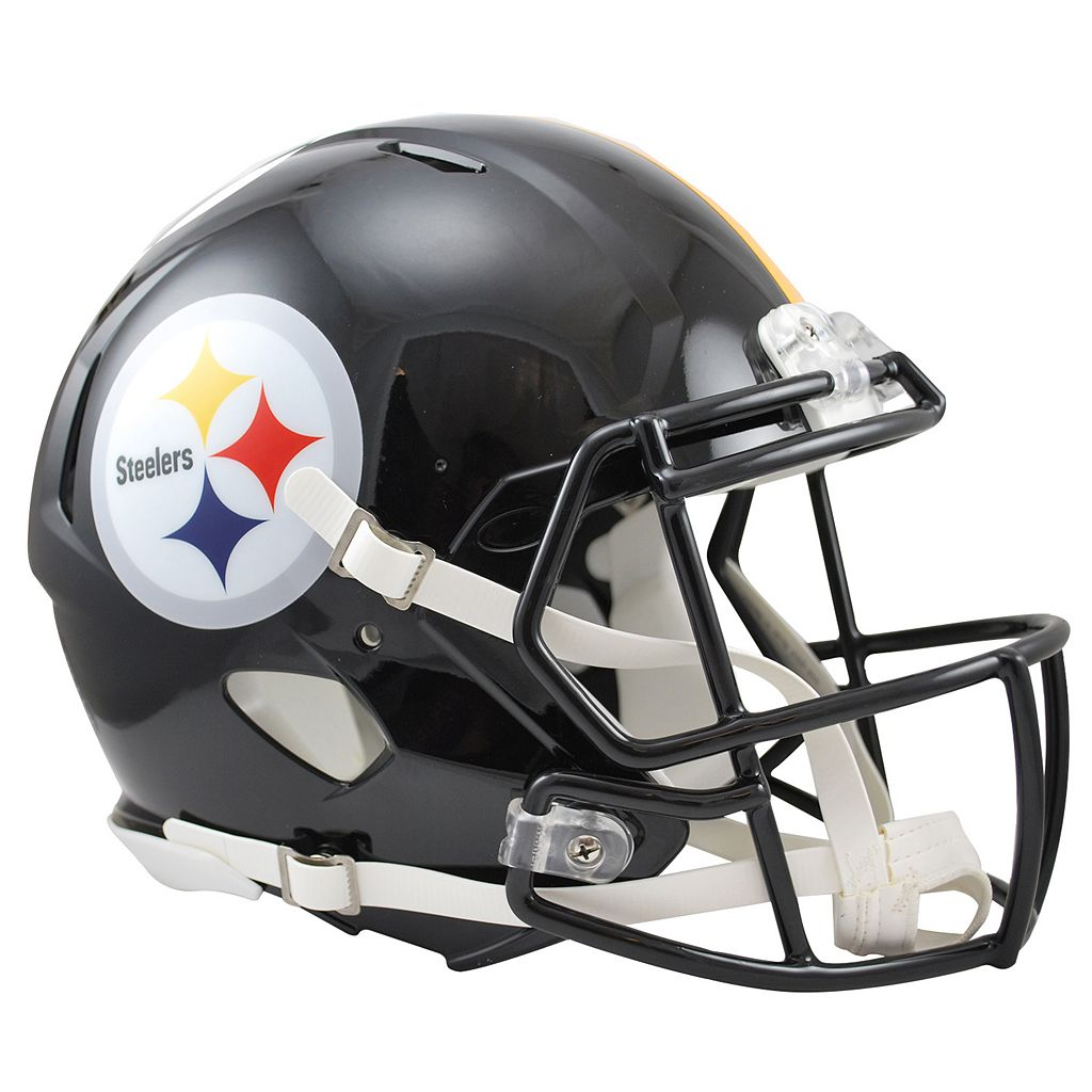 Riddell Pittsburgh Steelers Revolution Speed Authentic Helmet