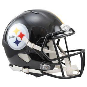 Riddell Pittsburgh Steelers Revolution Speed Authentic Helmet