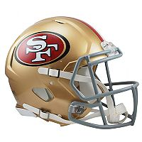 Riddell San Francisco 49ers Revolution Speed Authentic Helmet