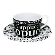 Konitz 8-pc. Cappuccino Cup and Saucer Set