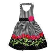 Blueberi Boulevard Striped Halter Sundress - Toddler