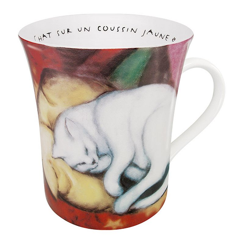Konitz Les Chats Dana L'Art Marc 4-pc. Mug Set (Red)