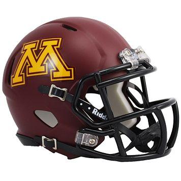Riddell Minnesota Golden Gophers Revolution Speed Mini Replica Helmet